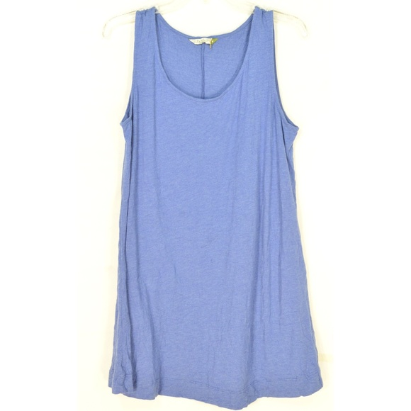Chalet Tops - Chalet tank top tunic M blue NWOT crinkle lagenloo